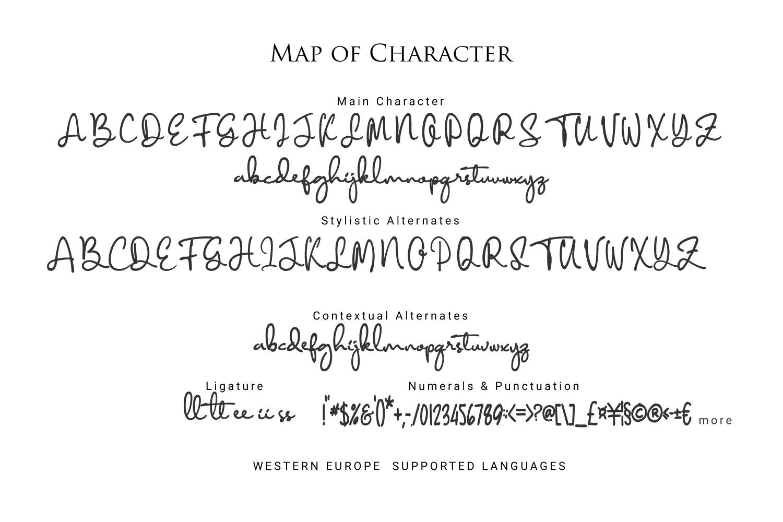 Diamant Handwriting example image 10
