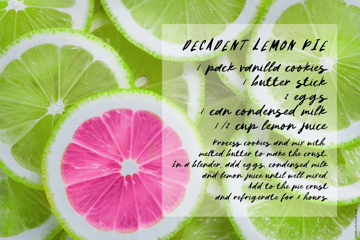 Lemon Pops Hand Drawn Script Font example image 3