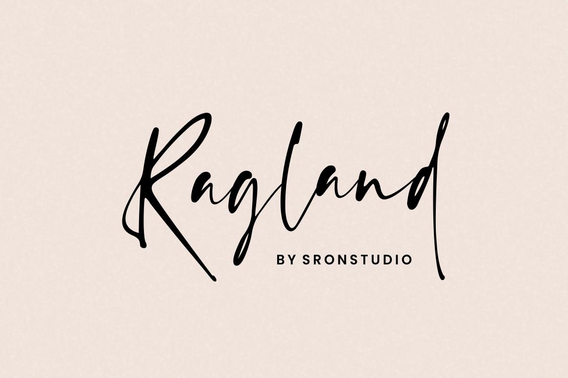 Ragland - Handwritten Font example image 1