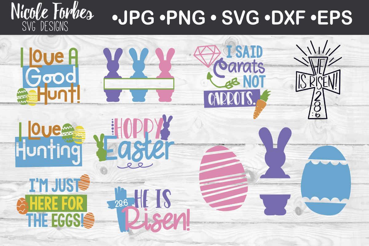 Easter Bundle SVG Craft Bundle example image 1