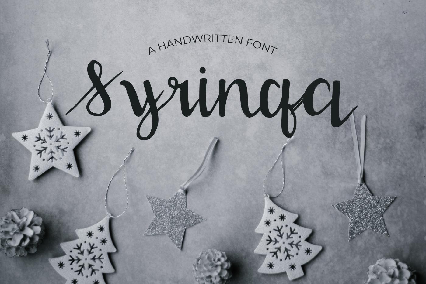 15 Creative Handmade Fonts Bundle example image 14