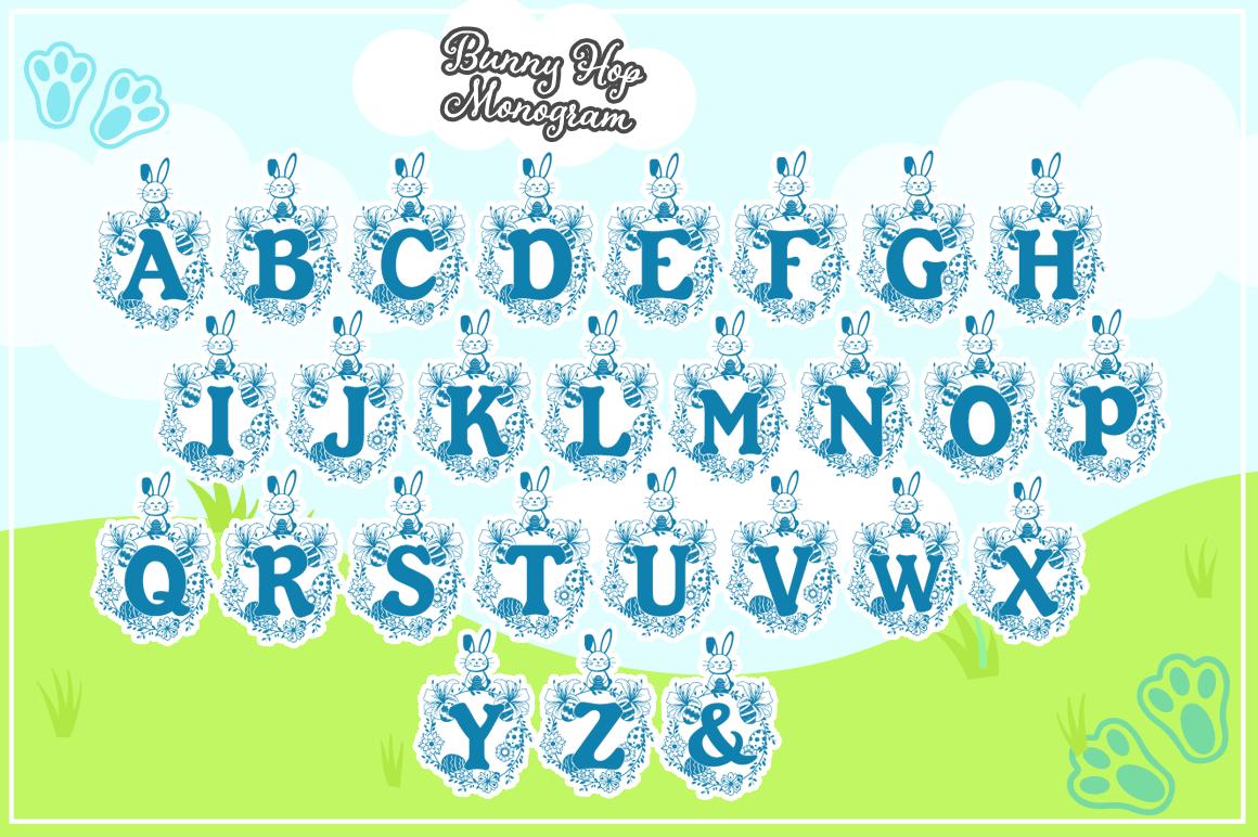 The Easter Joy Font Bundle example image 10