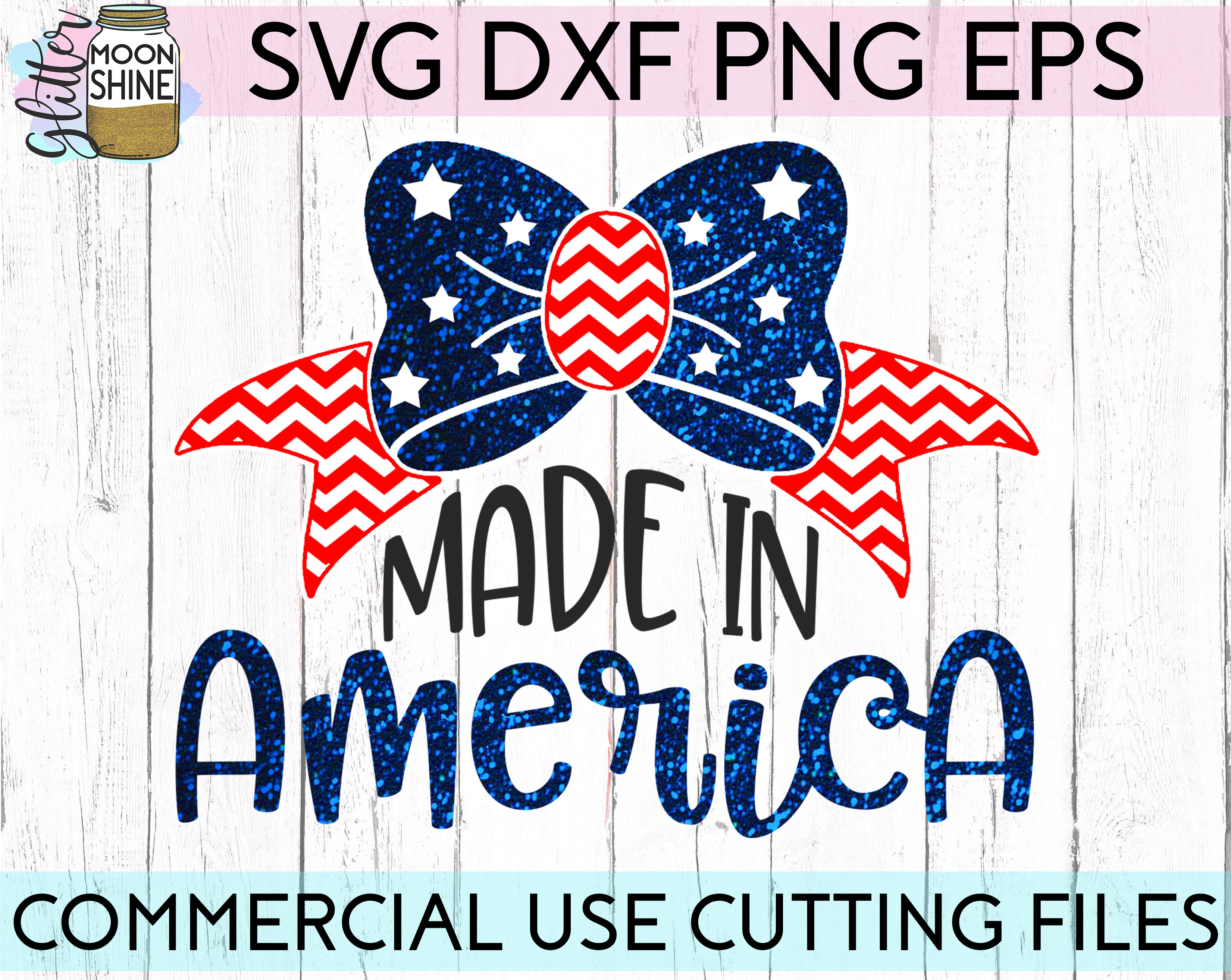 Huge 4th Of July Design Bundle of 23 SVG DXF PNG EPS Cutting Files example image 13