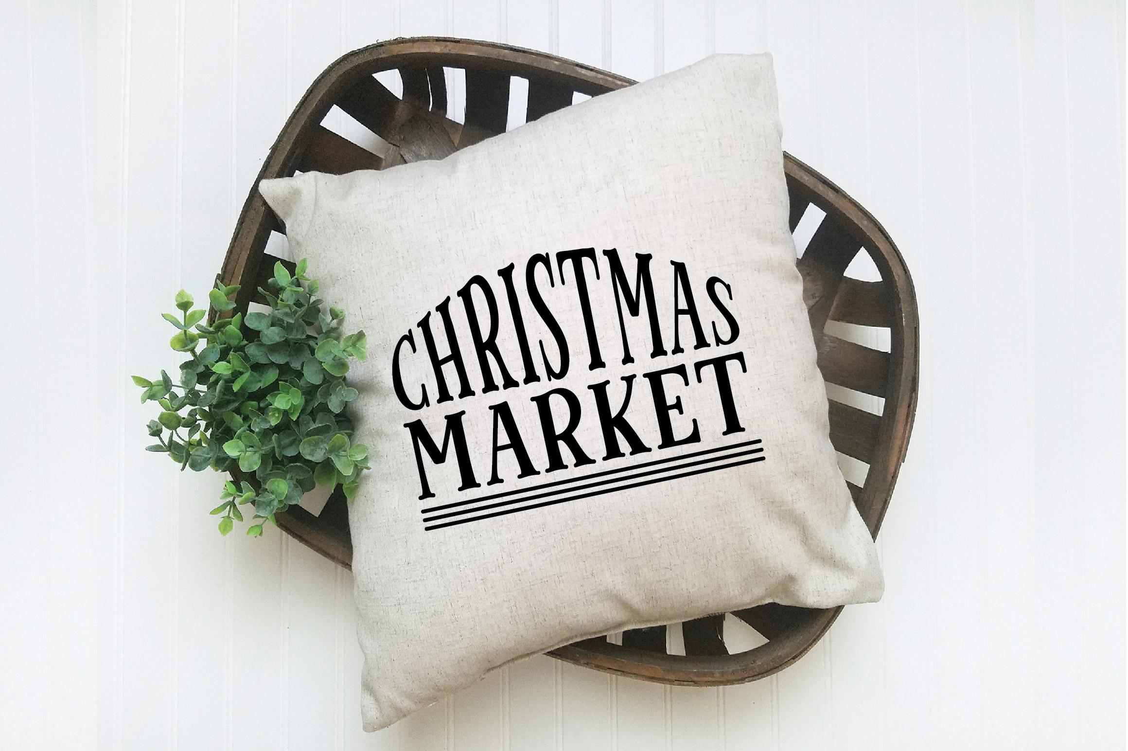 Christmas SVG Cut File - Christmas Market SVG DXF PNG EPS example image 7
