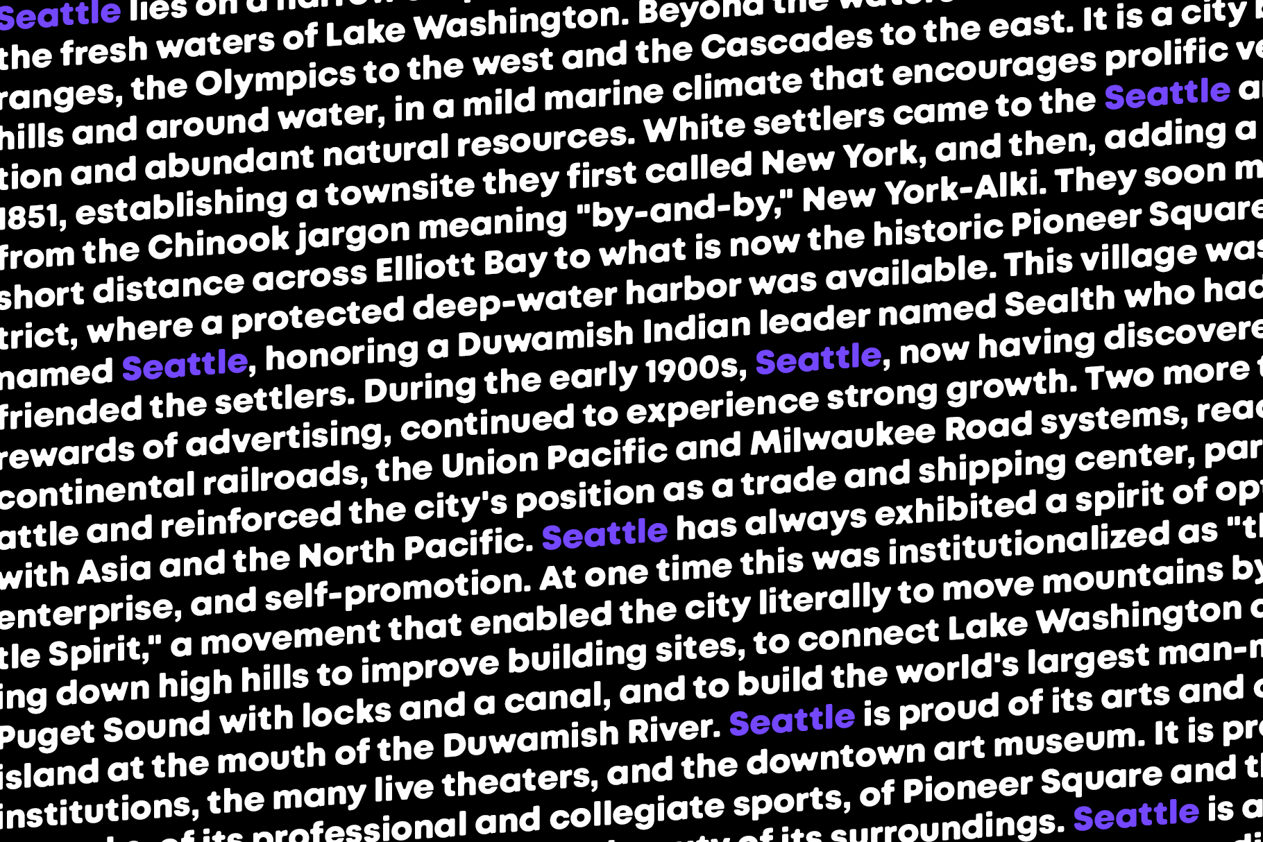 Seattle Sans example image 3