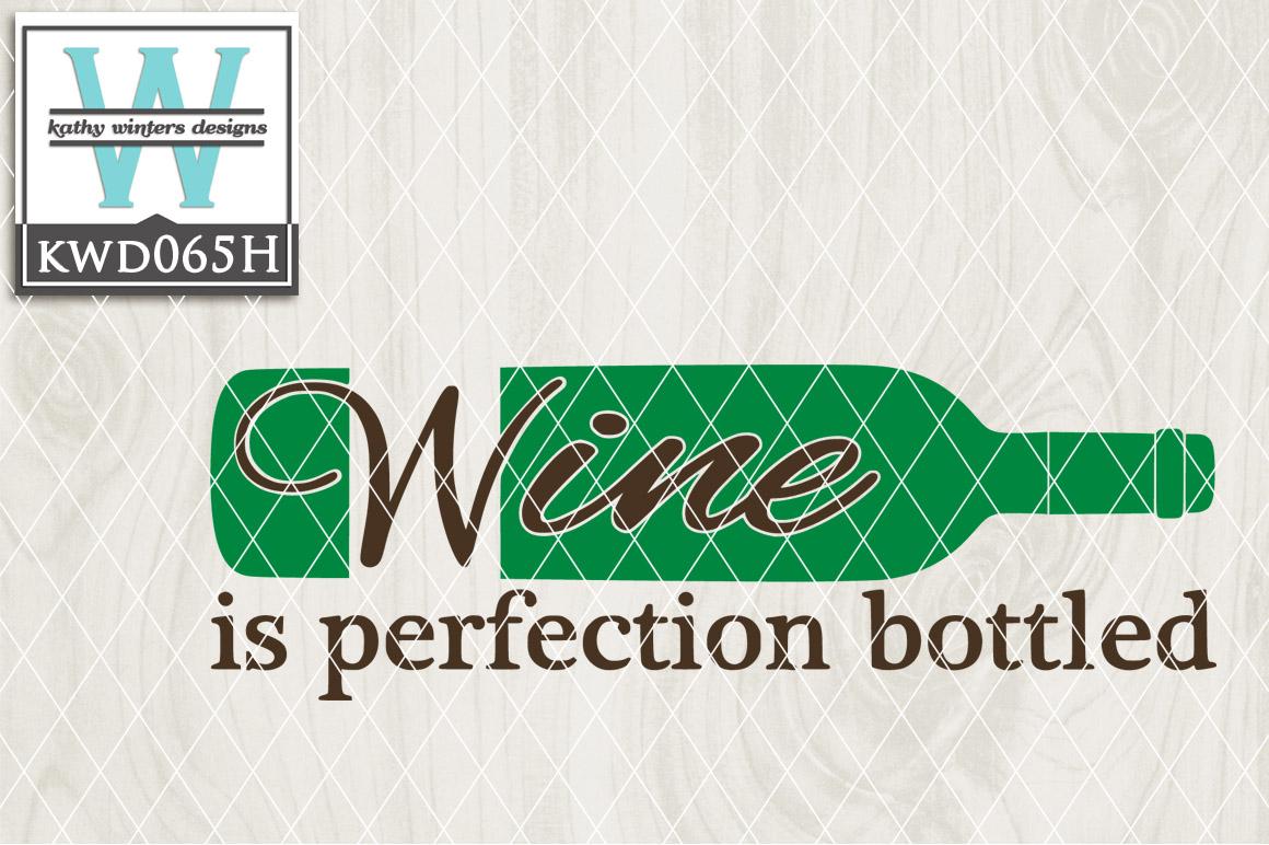 Wine Cutting File KWD065H example image 1