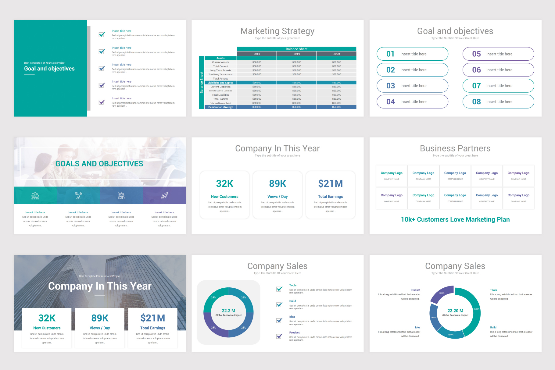 Annual Report Keynote Template example image 15