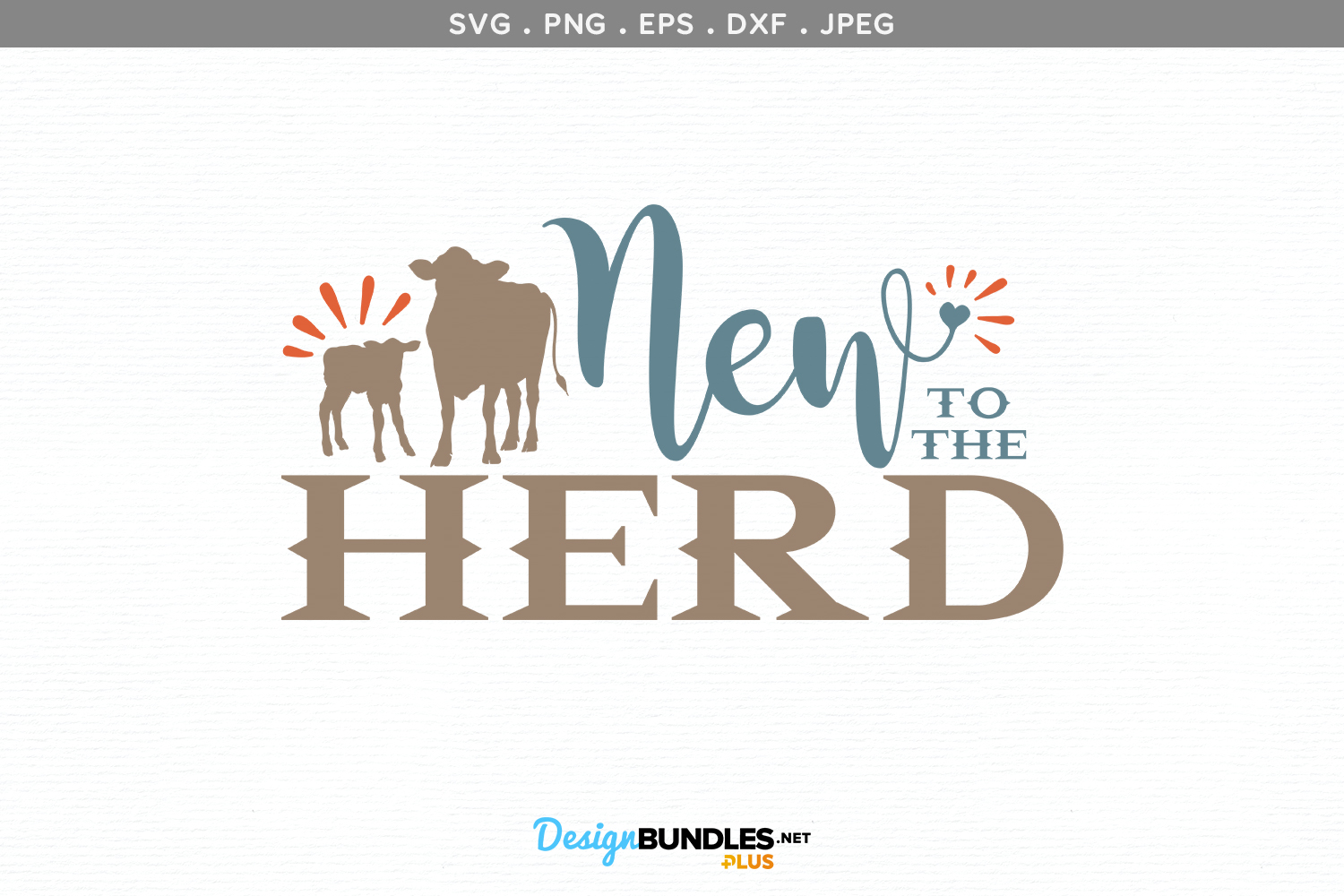 New to the Herd - svg & printable example image 2