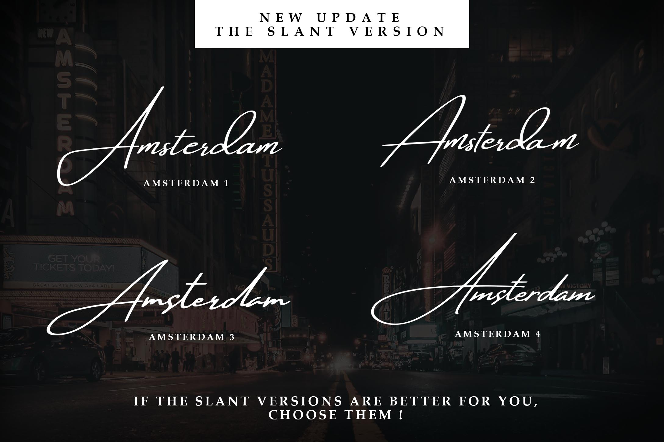 Amsterdam Font Collection | UPDATE 8 Fonts example image 3