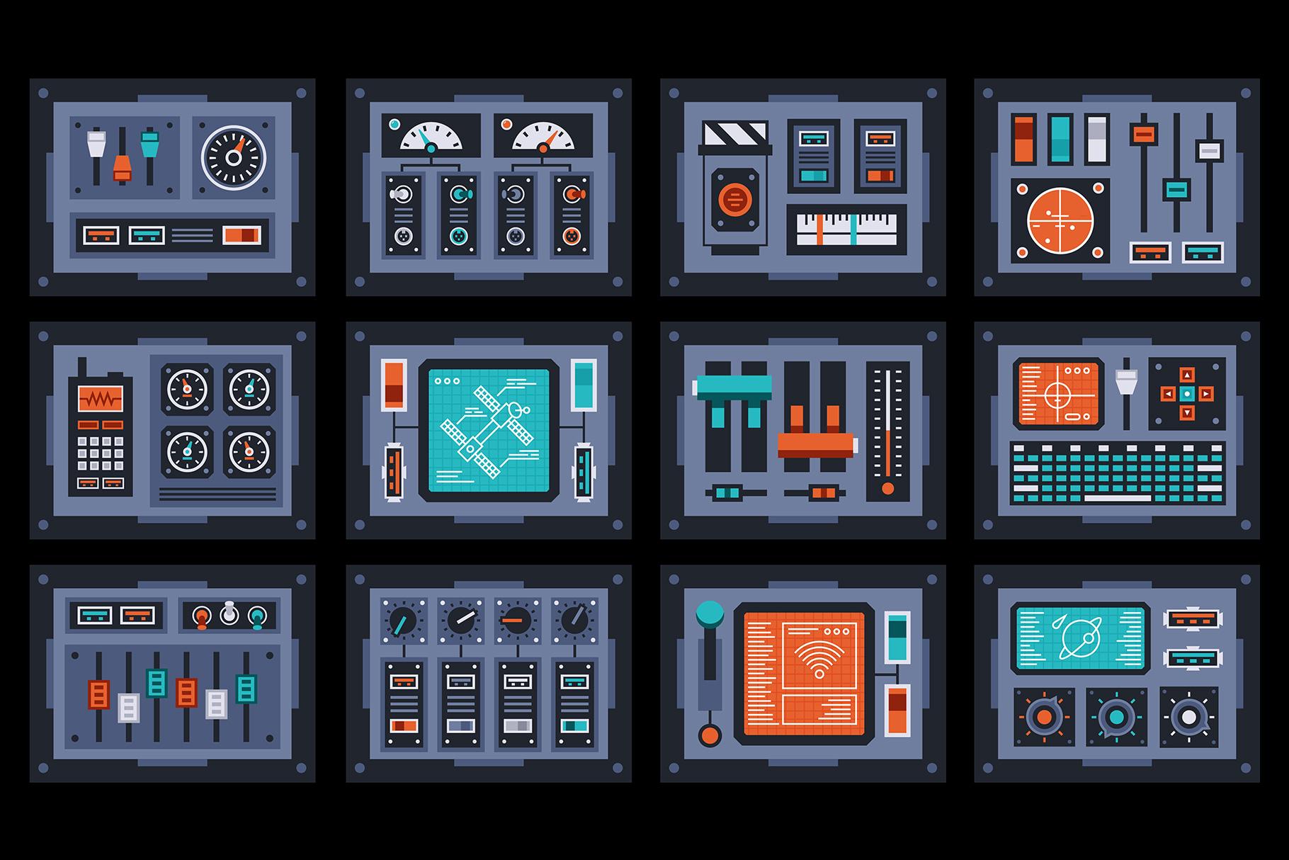 Control Panels Spaceship example image 5