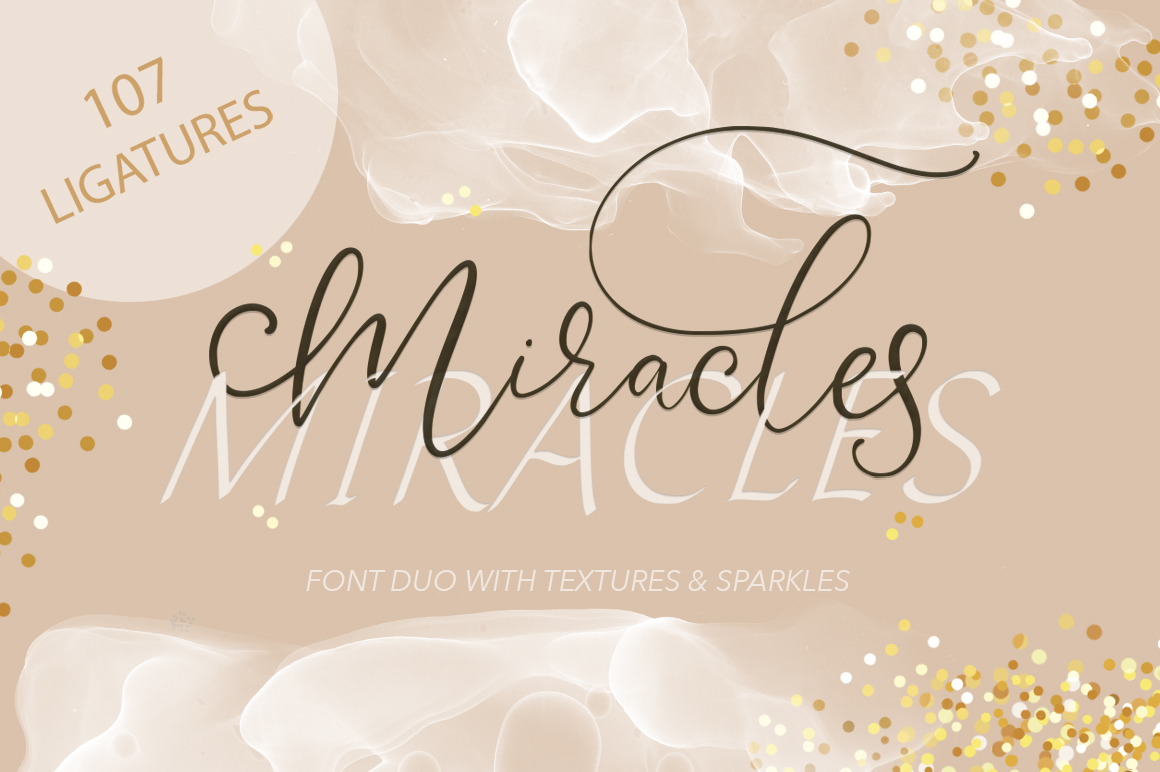 Miracles Duo Font. example image 1