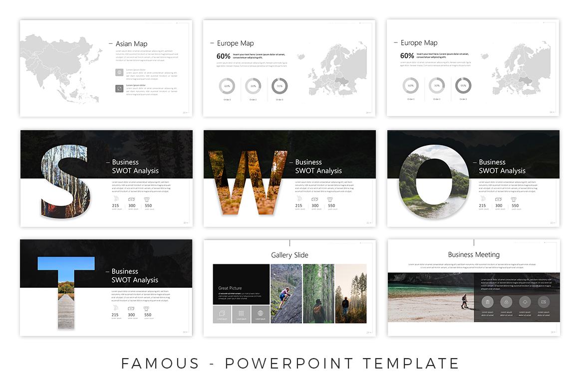 Famous - Creative Presentation example image 3