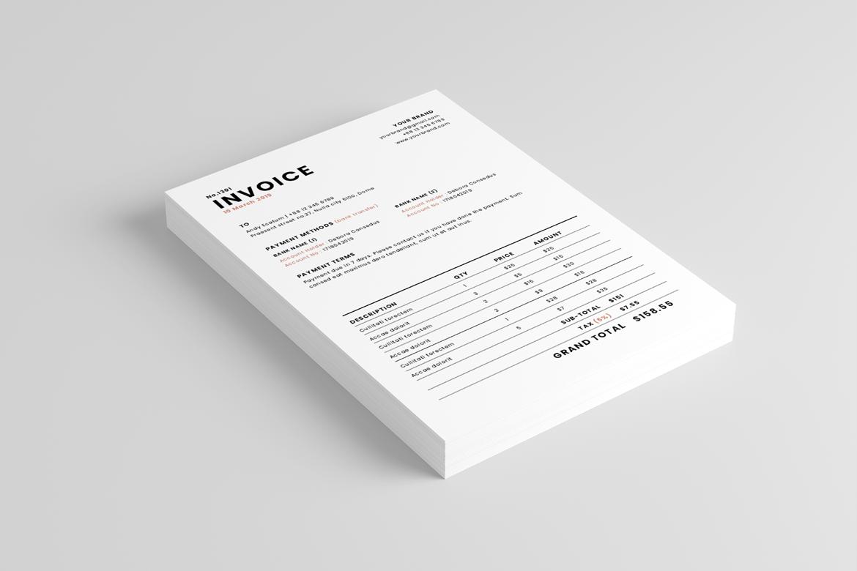 Invoice example image 2