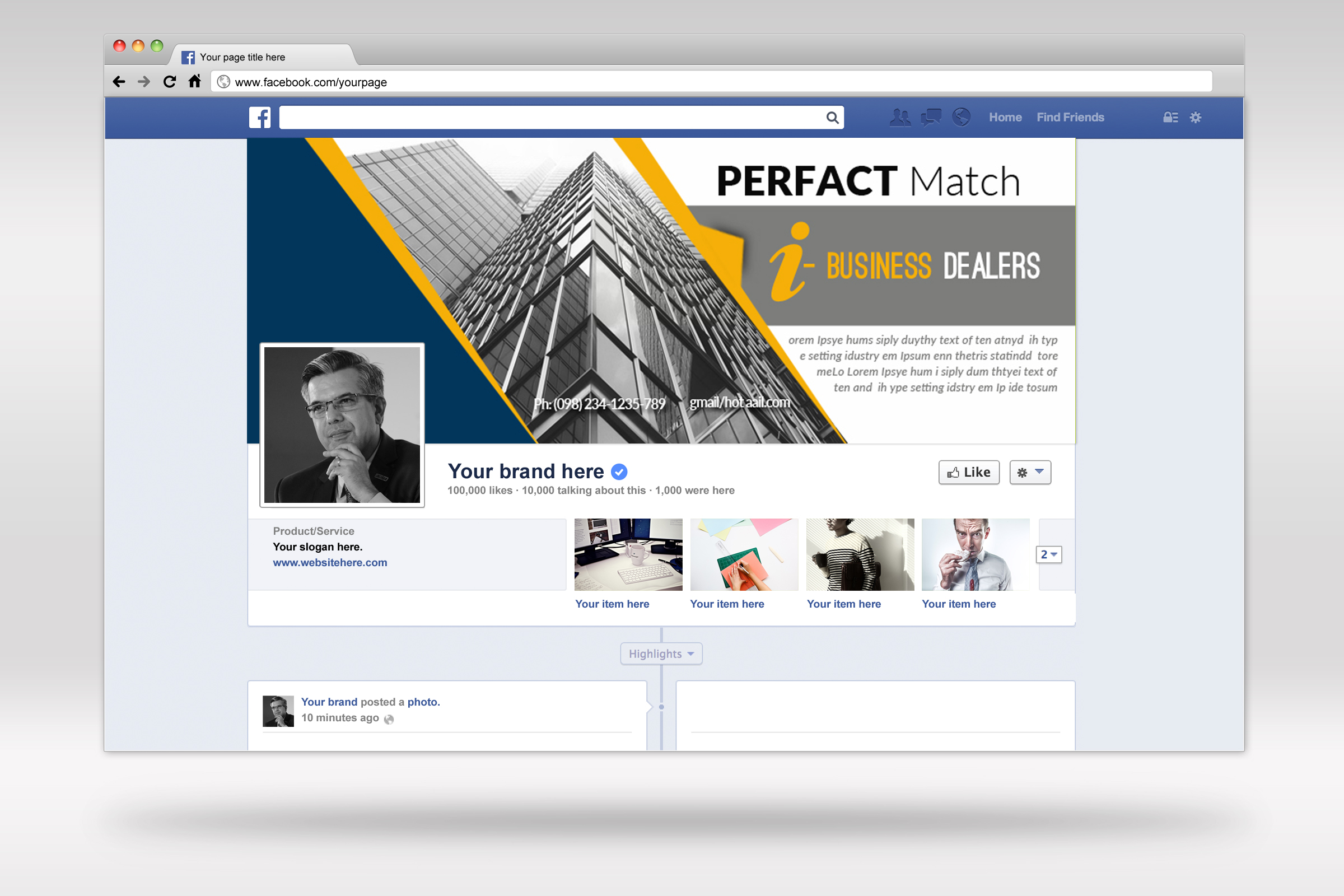 Business Facebook Timelines10 example image 3