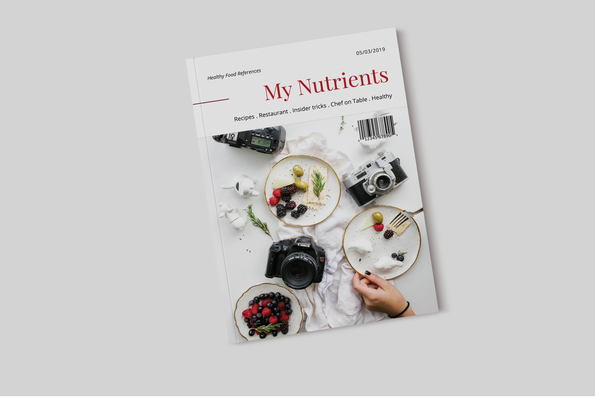 Nutrient - Food Catalogue Template example image 1