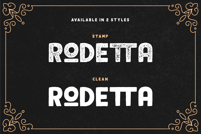Rodetta - Sans Vintage Font example image 6