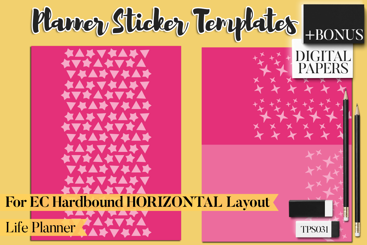 Planner Stickers Templates - Bundle Vol. 11 example image 7