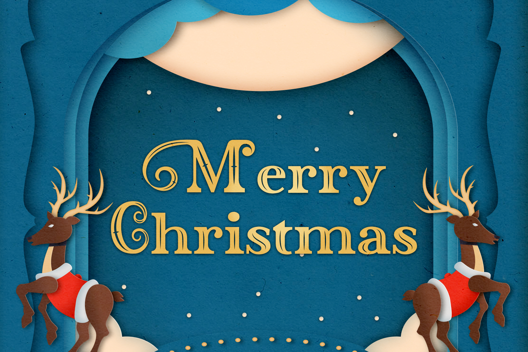 Blessed Night - 3 Christmas Font example image 2