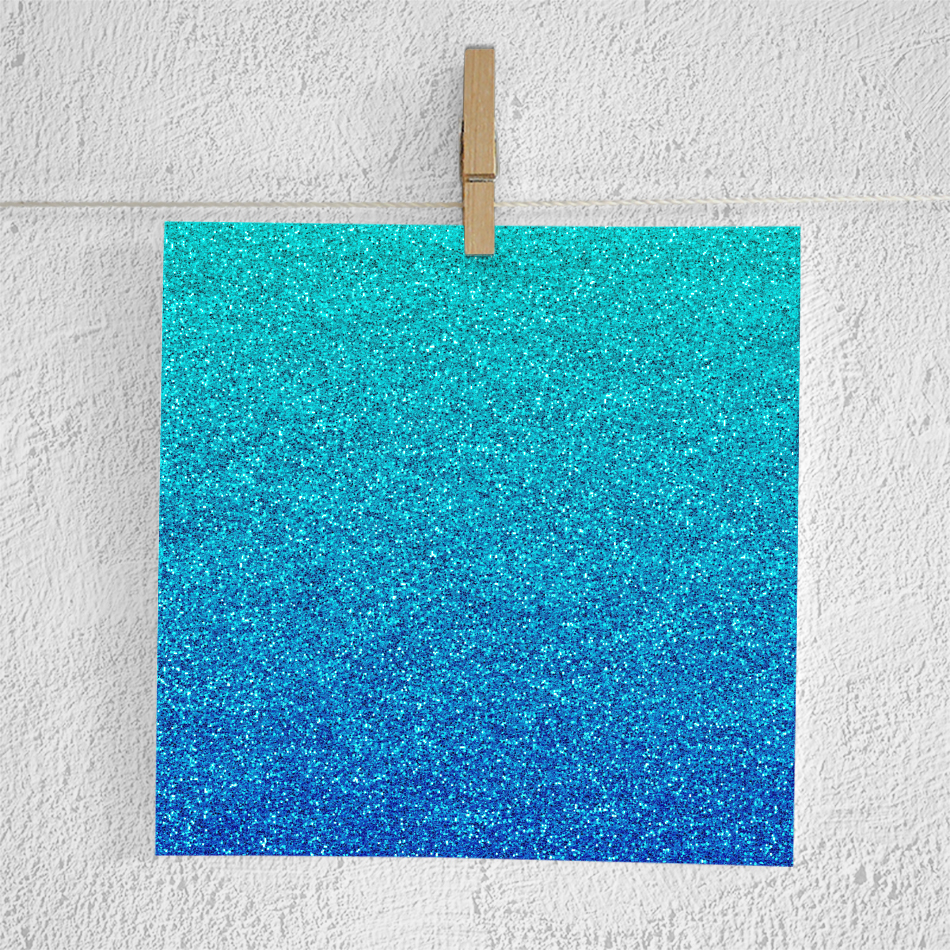 Gradient Glitter Digital Paper example image 3