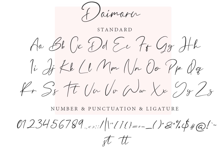 Daimaru Modern Signature example image 8