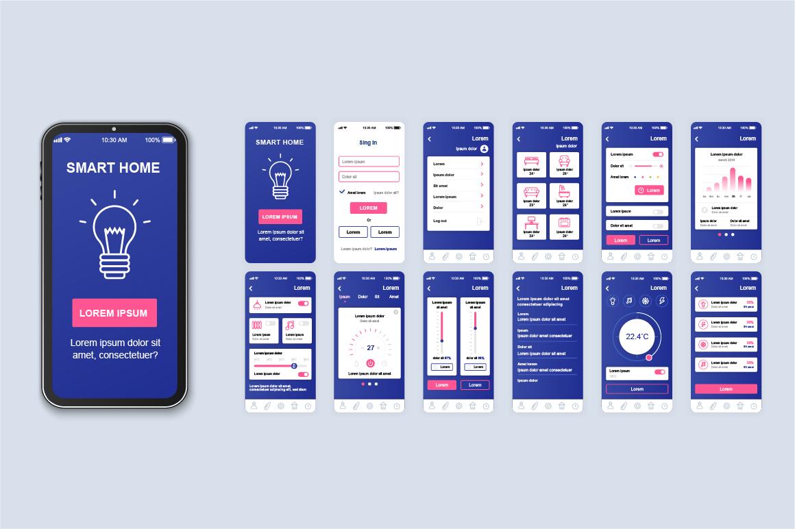 Bundle Mobile App UI Kit Screens example image 9