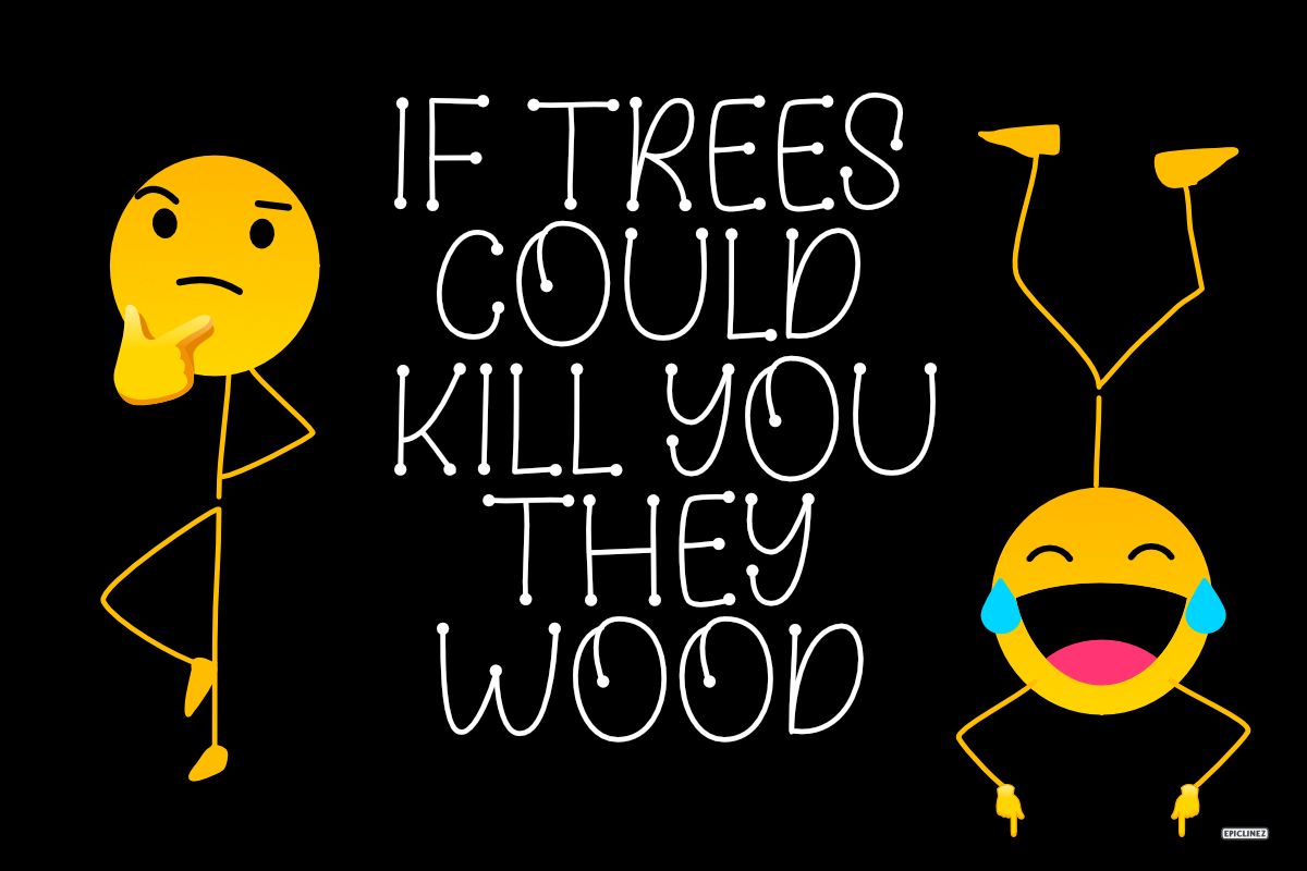 Wood Lover - A Cute Display Font example image 2