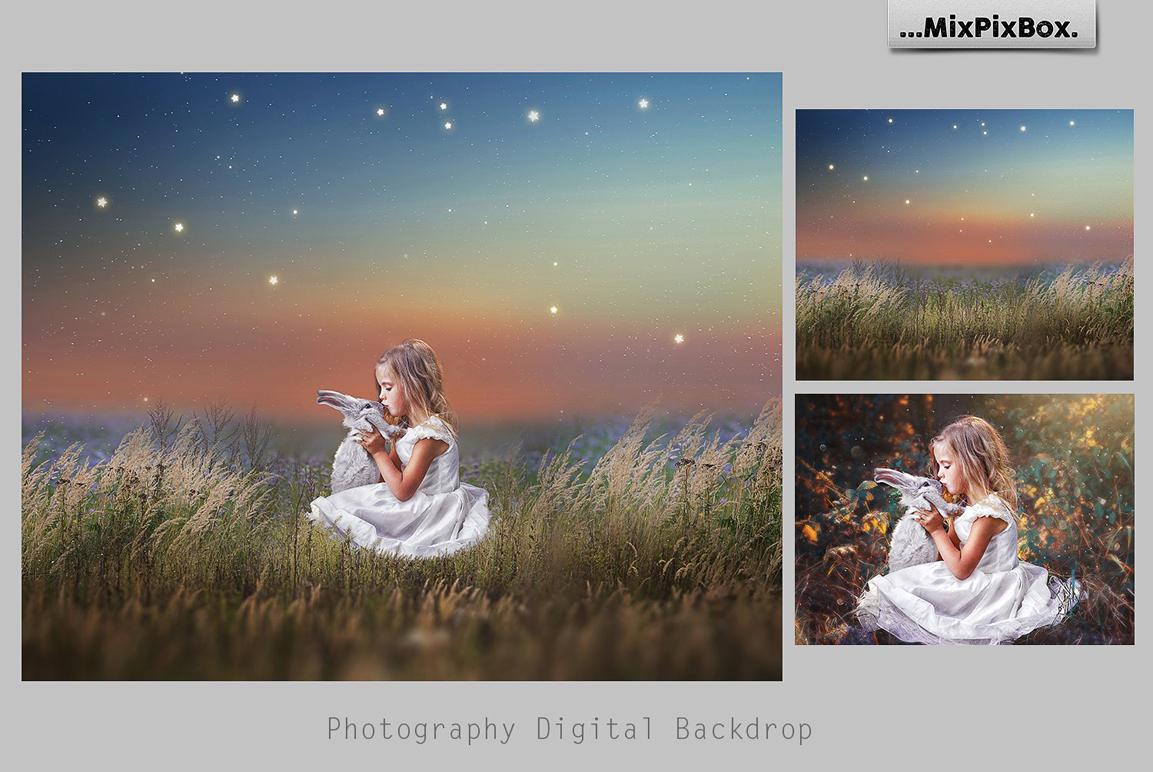 Magic Night Backdrops example image 4