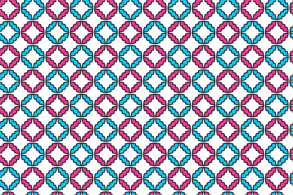 Colorful ornamental patterns. example image 4