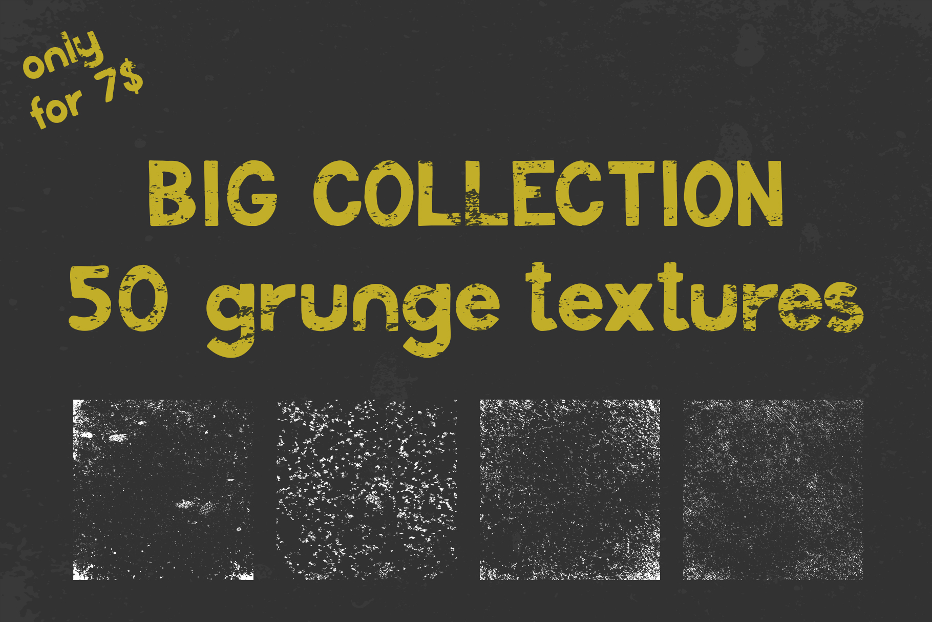 Big collection of grunge textures example image 1