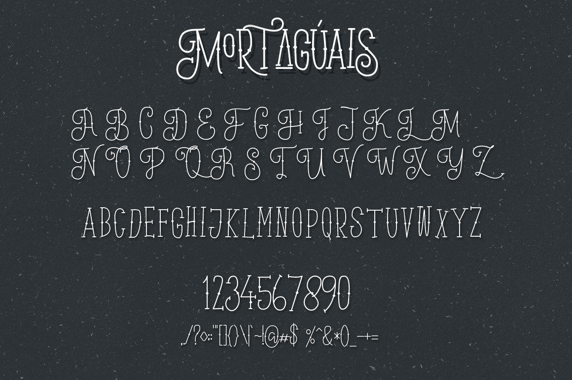 Mortaguais Typeface example image 10