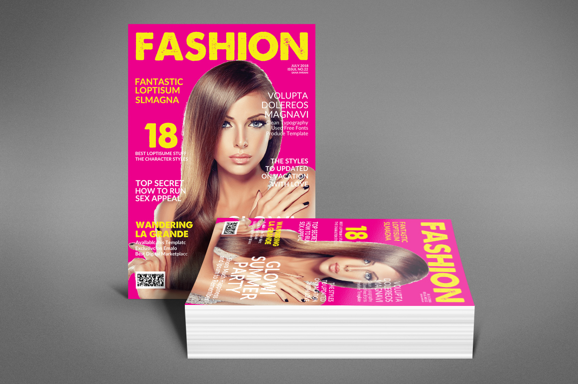 Magazine Template example image 3