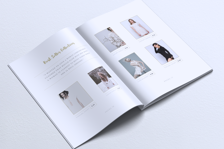 MEDUSA Minimal Lookbook Magazines example image 11