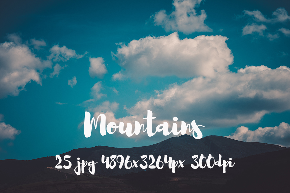 Mountains Pack example image 11