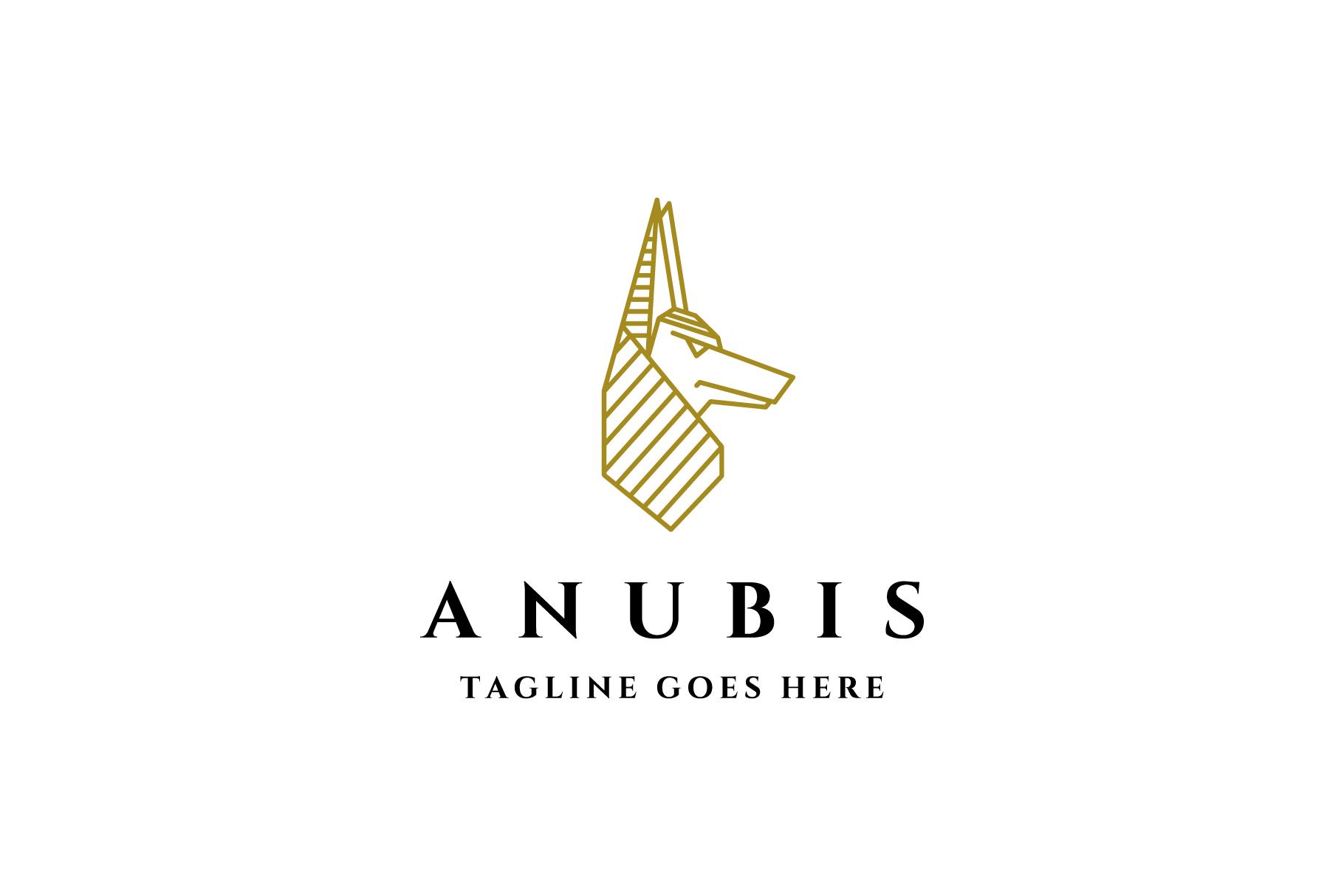 anubis egyptian god logo example image 1