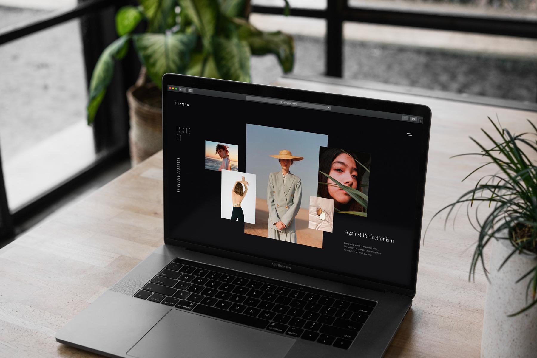 MacBook Pro Mock-Up Loft Style example image 6