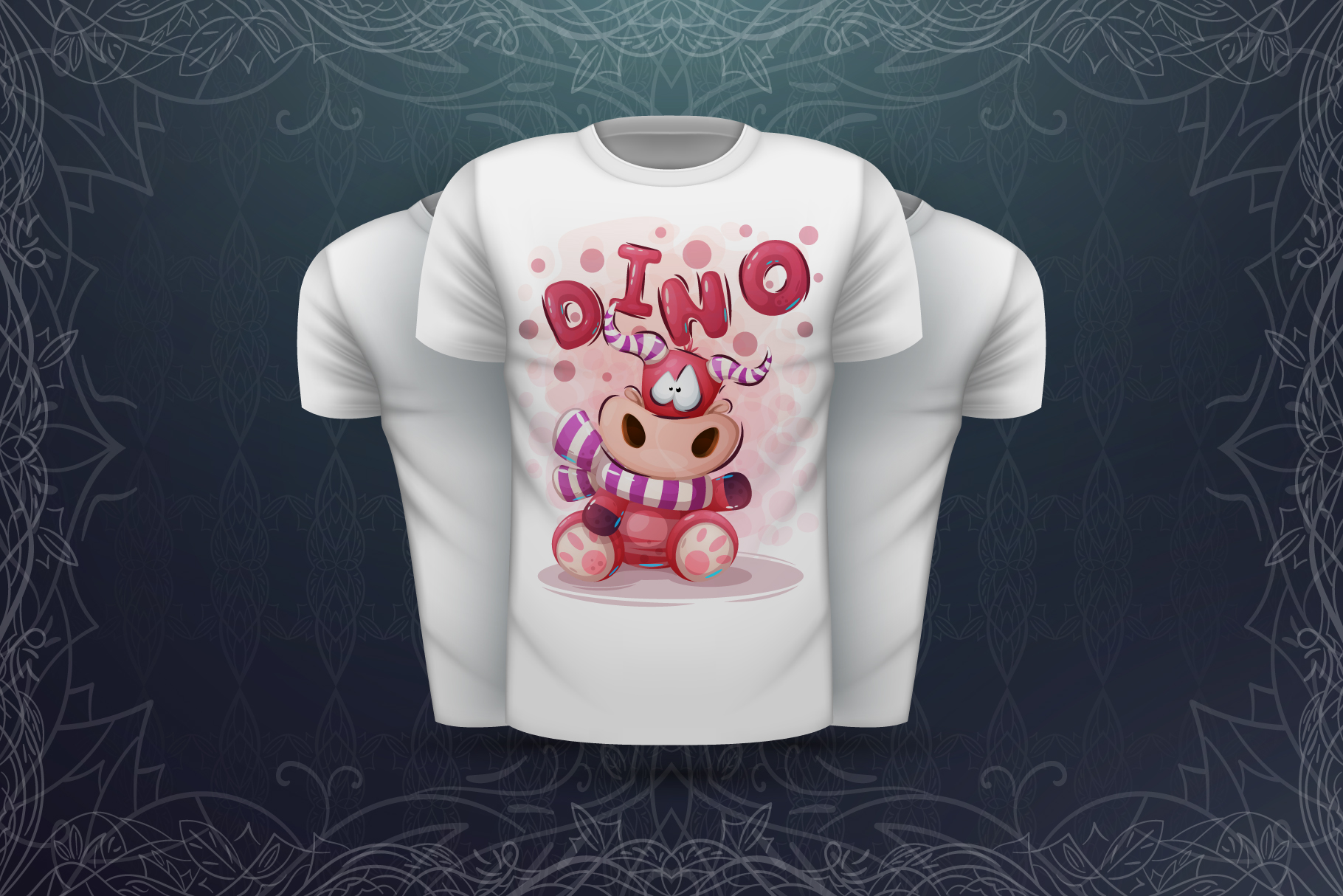 Set cute animals - for print t-shirt example image 5
