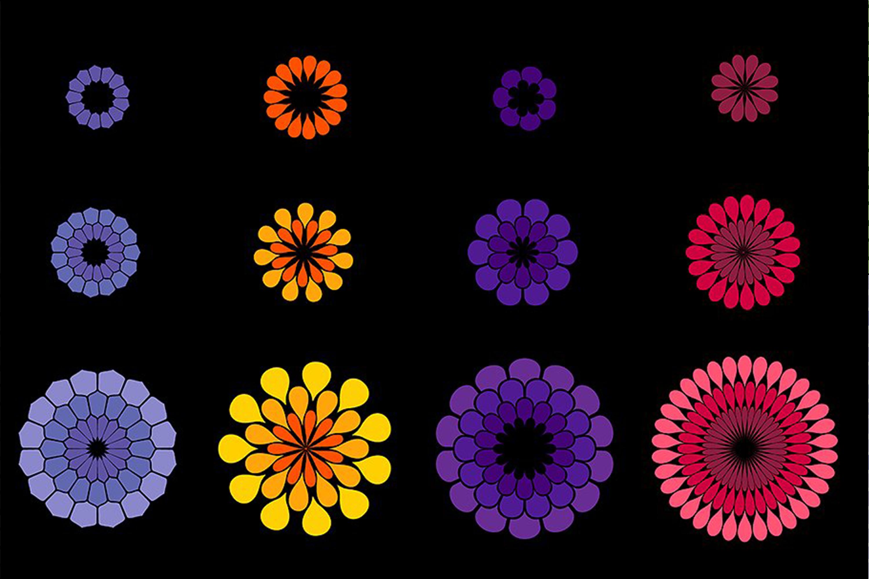 Flower Petal Brushes example image 6