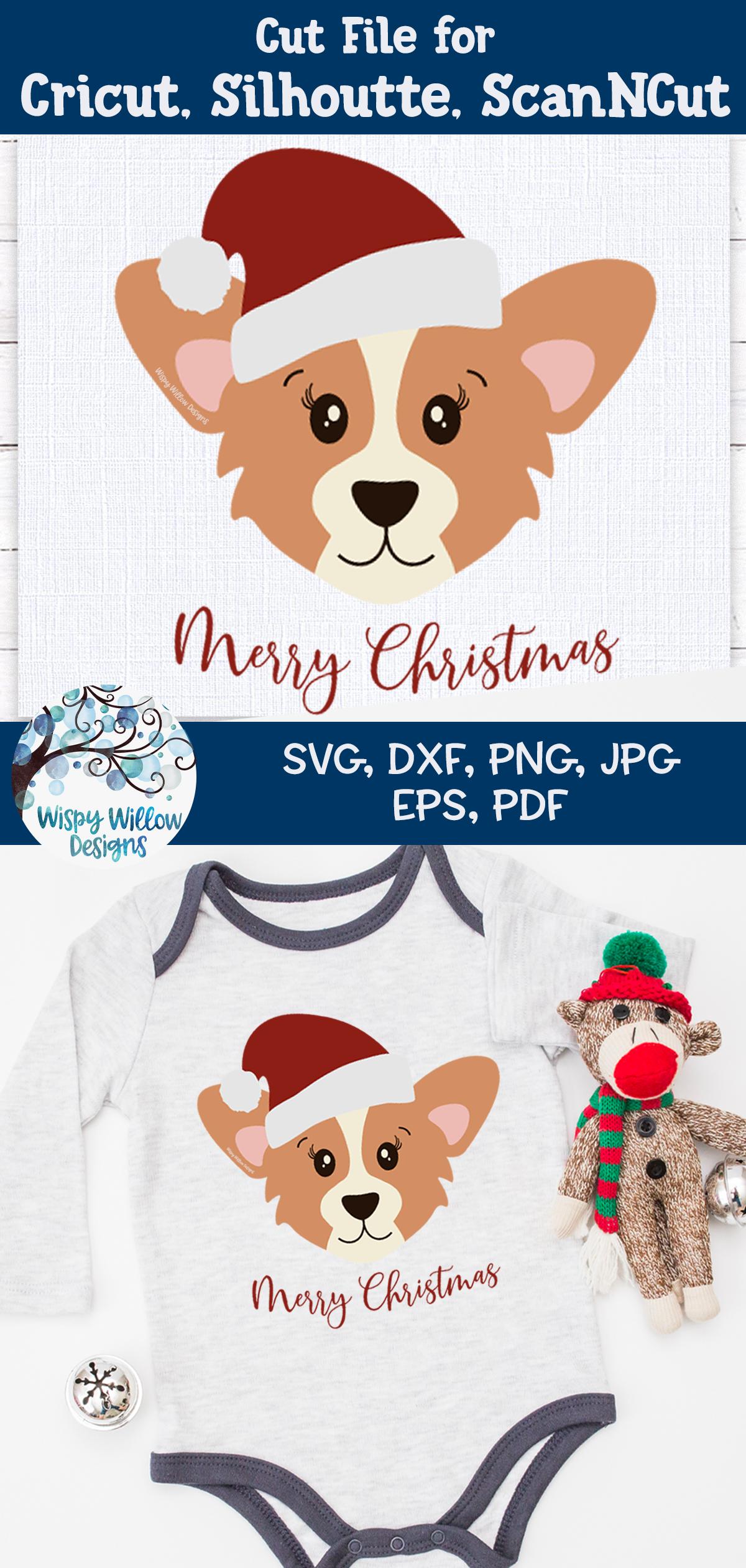 Santa Corgi SVG | Christmas Dog SVG Cut File example image 4