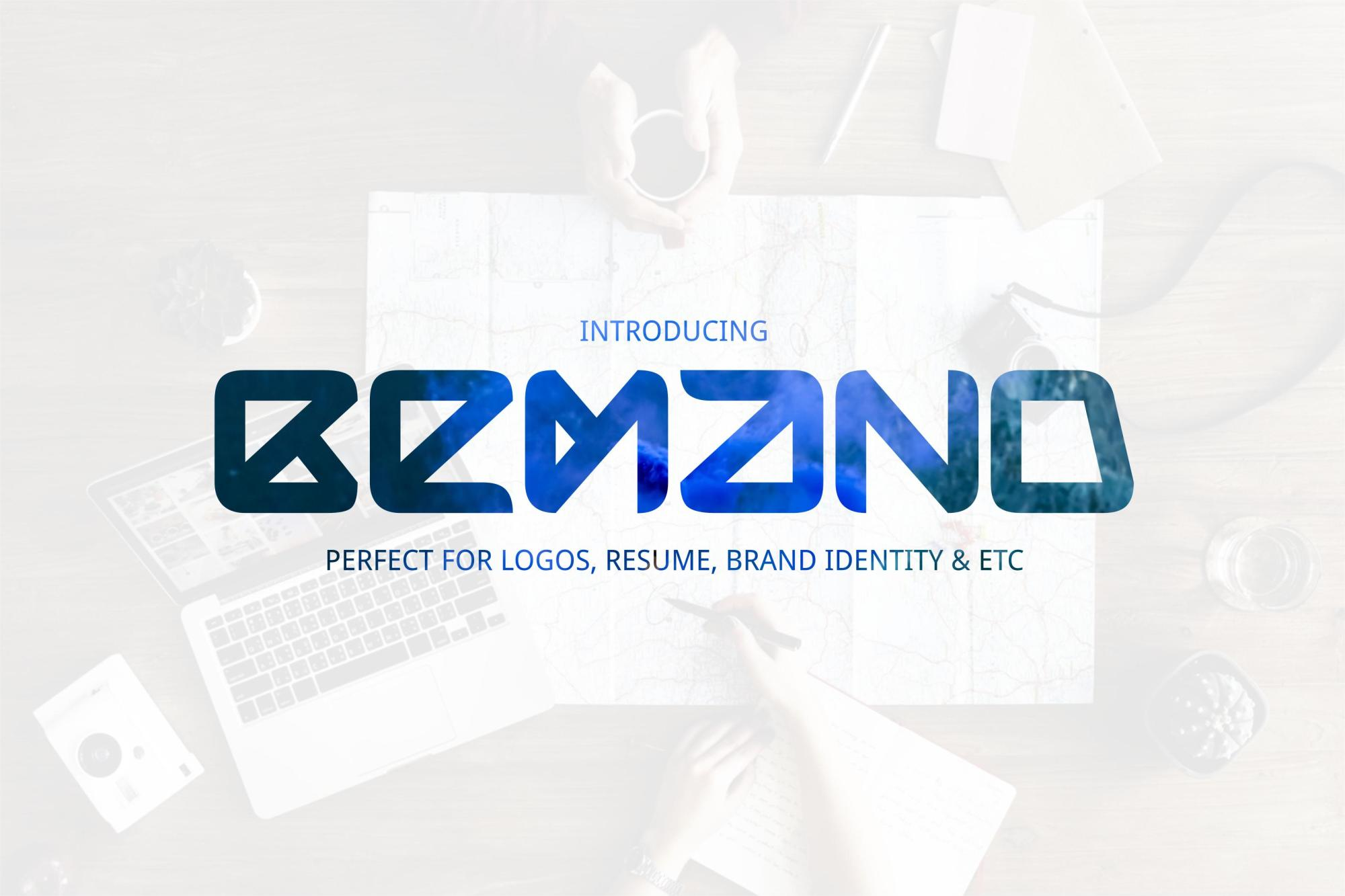 Bemand | A Brand Identity Font example image 1
