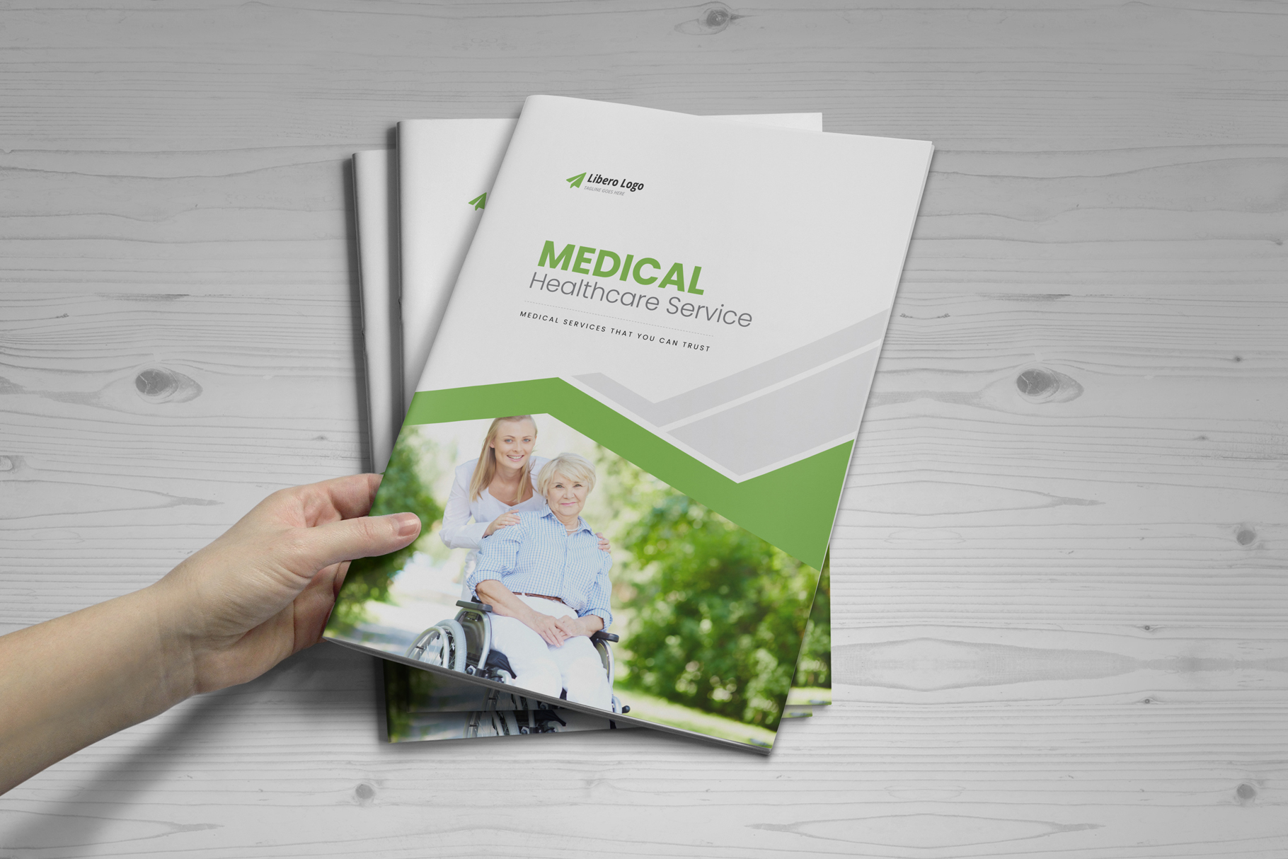 Medical HealthCare Brochure v6 example image 9