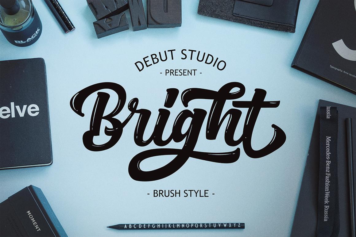 Bright Script (Fonts Trio)  example image 7