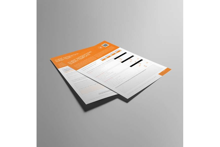 Client Satisfaction Survey Template example image 5