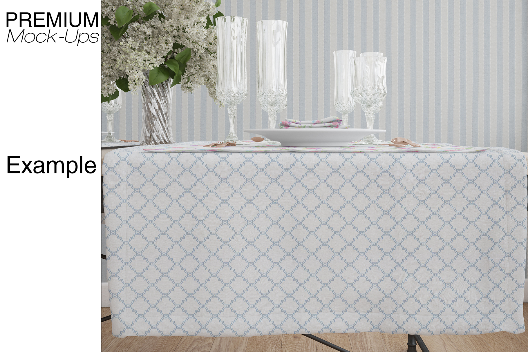 Tablecloth, Runner, Napkins & Plates example image 17