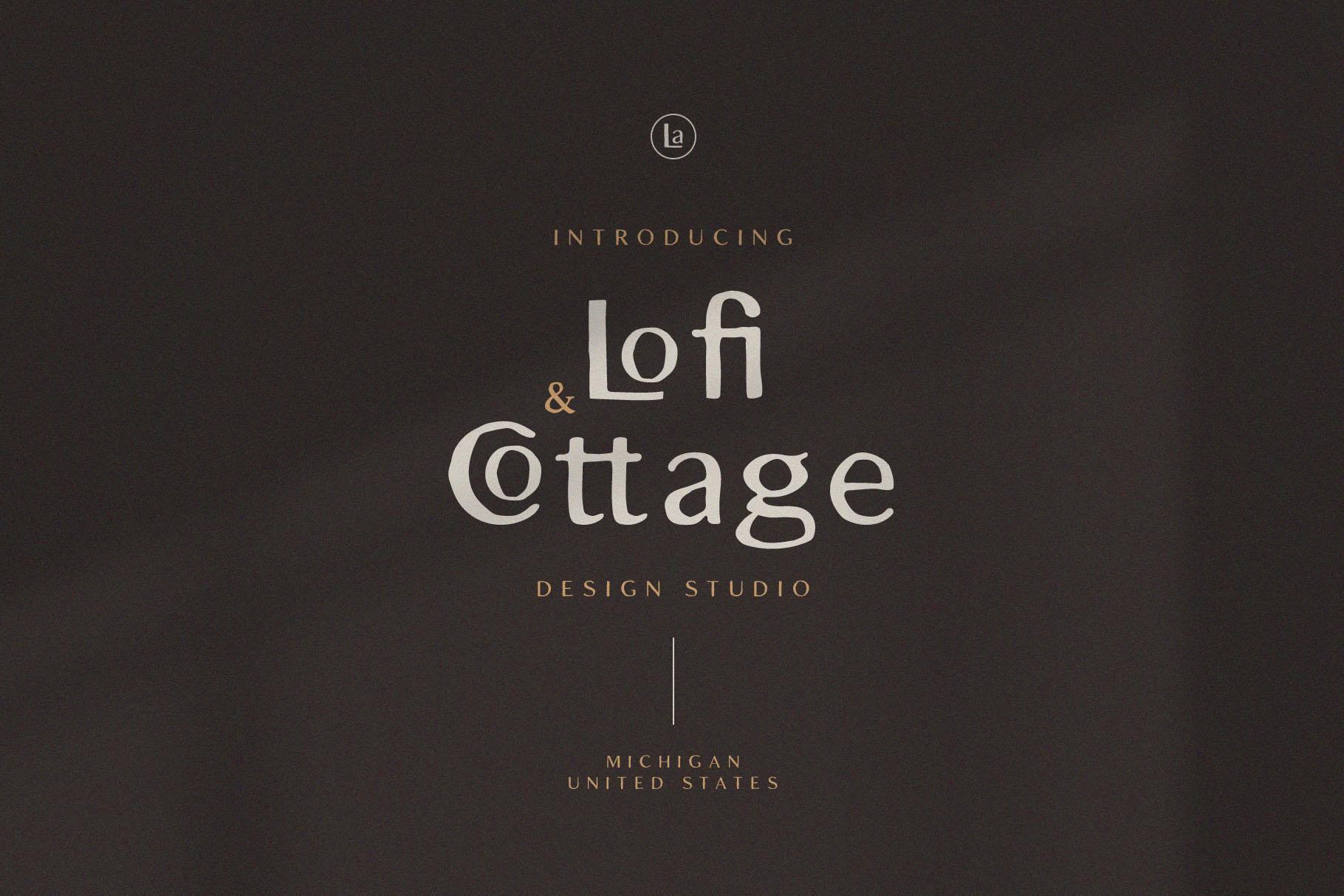 Lofi Cottage - Rustic Sans Serif example image 2