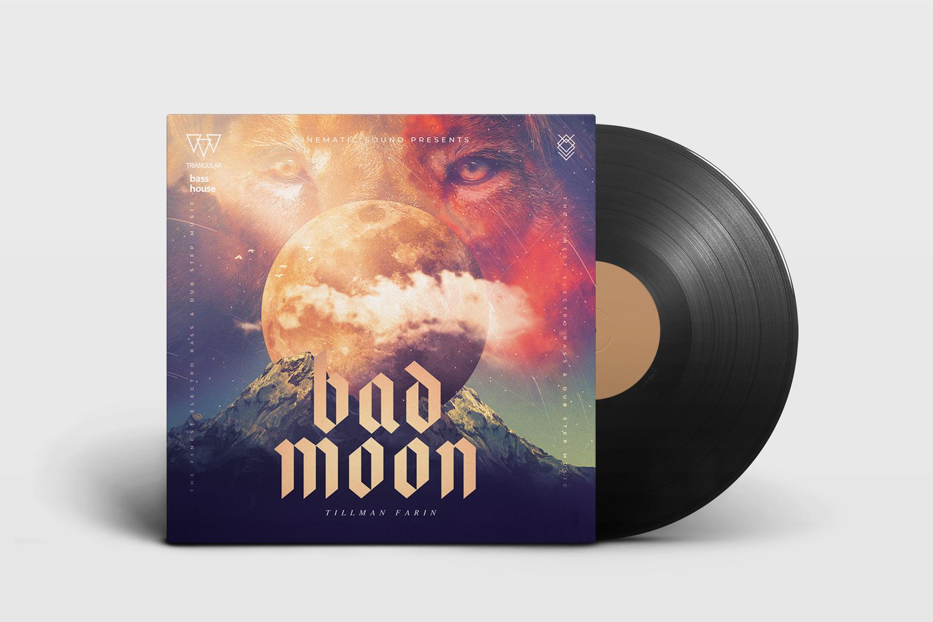 Bad Moon Album Cover Art example image 2