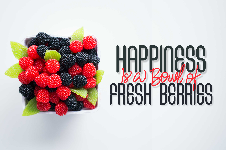 Fresh Berries - Script & Sans Font example image 12
