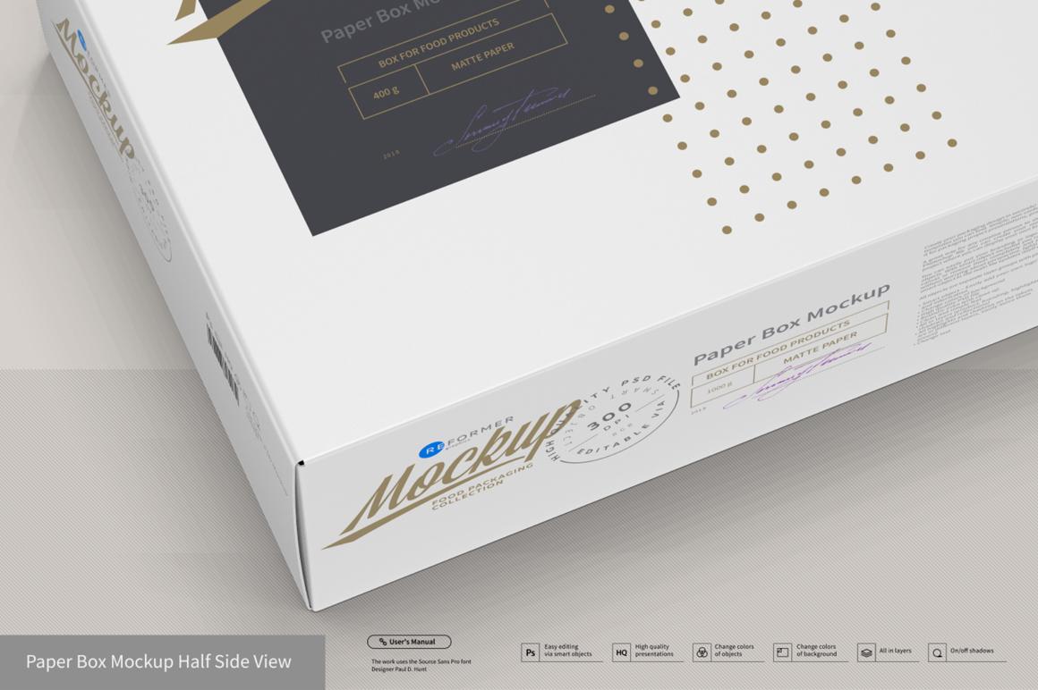 Presentation of Cartoon Box Design Mockup example image 3