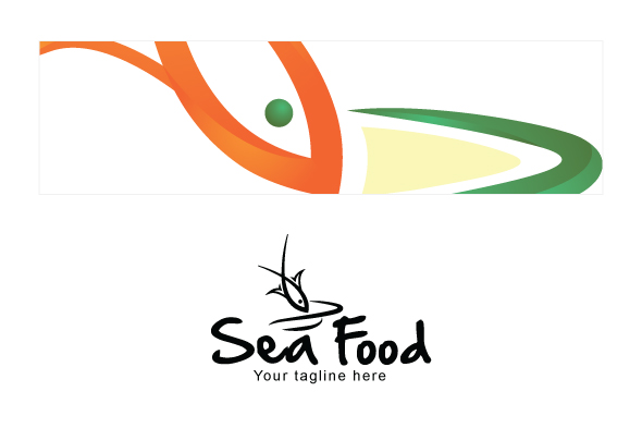 Sea Food - Simple Illustrative Stock Logo example image 3