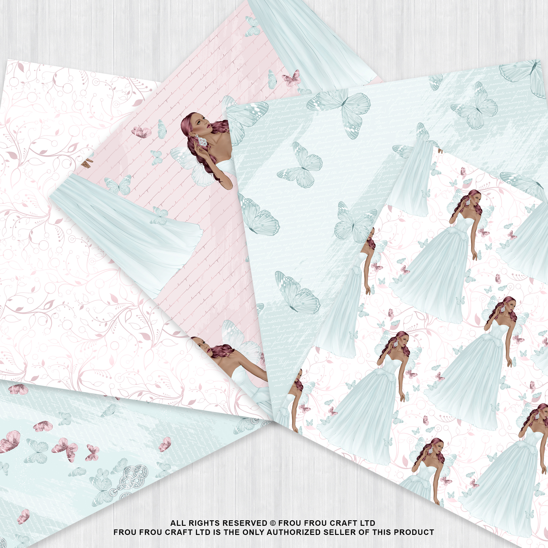 Fairy Tale Princess Butterfly Paper Pack example image 4