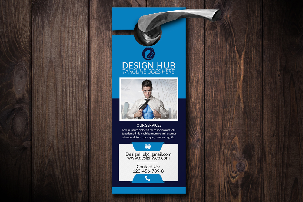 Business Analyst Door Hangers example image 1